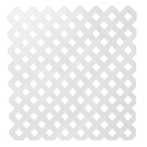 Veranda 4x8 White Priv Plst Lattice