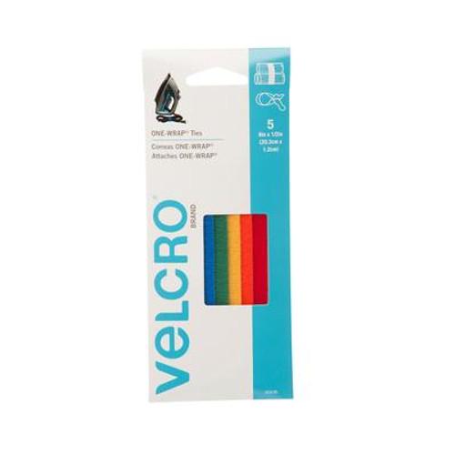 Velcro 8 in. x 1/2 in. Reusable Ties