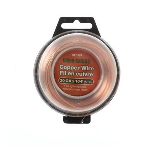 Copper Wire-Machine Coiled 20Gx50M