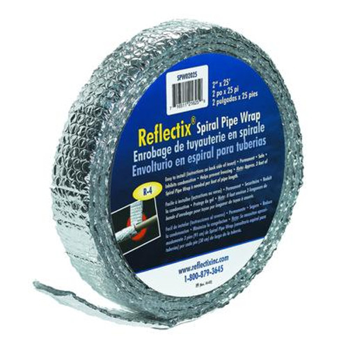 Reflectix Pipe Wrap 2 In. x 25  Ft.