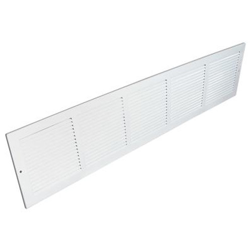 30  x 8  Sidewall Grille - White