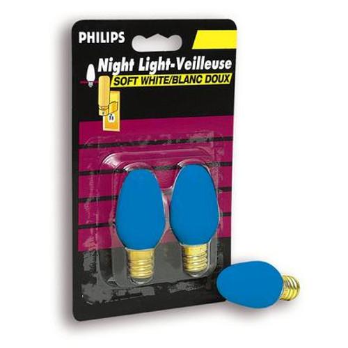 4W Night Light Blue 2 Pack