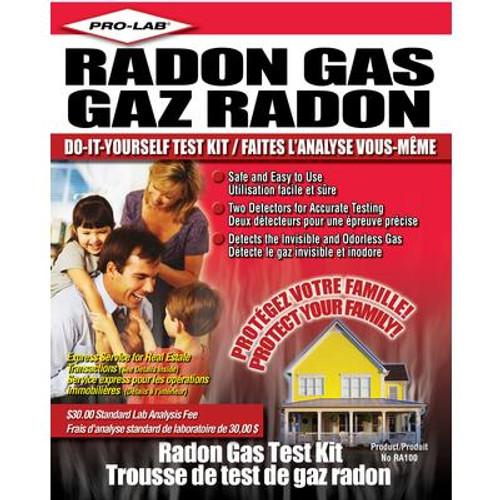 Do It Yourself Radon Gas Test Kit (S)