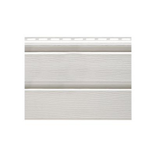 Solid Vertical Siding D5 Soffit white