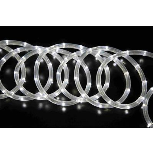 15ft White LED Rope Light