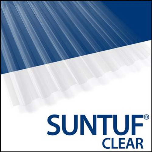 Suntuf Cor. Pc12  Feet . Clear