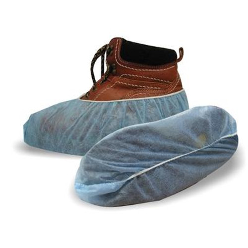 Blue Polypropylene Shoe Covers 3/Pr