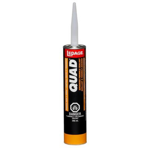 QUAD Low VOC Advanced Formula Sealant Grey 517- 295mL
