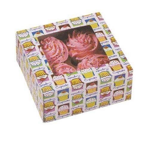 Wilton Cupcake Box, Holds 4