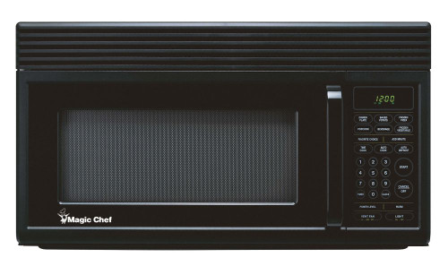 Magic Chef 1.6 cu ft Over the Range Microwave - Black
