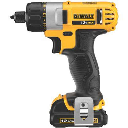 12V Max Lithium Ion Screwdriver Kit