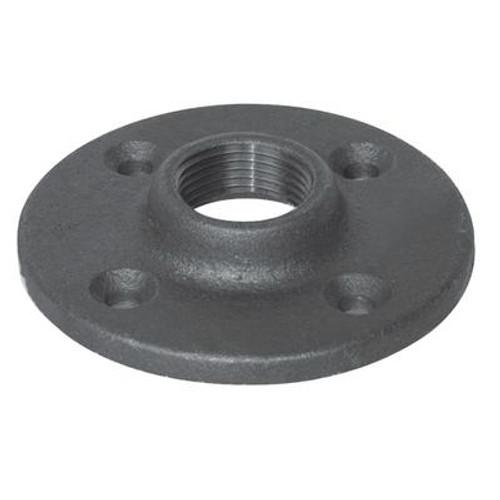 Fitting Black Iron Floor Flange 1/2 Inch