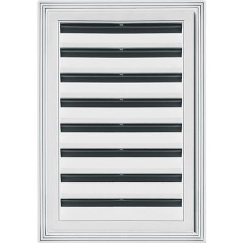 12 inches X18 inches Rectangle Vent White