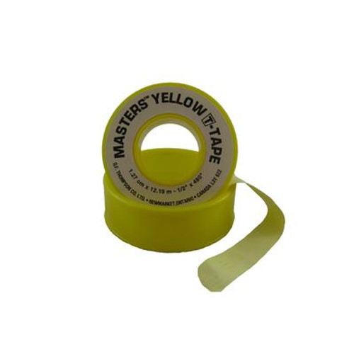1/2 inch X 480 inch Yellow T-Tape