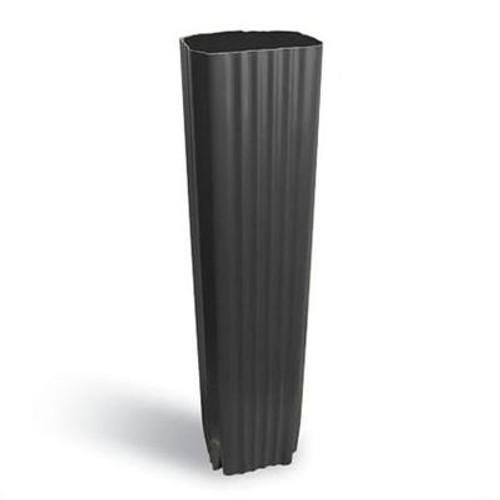 Aluminum Downpipe - 2 Inch X 3 Inch - Black