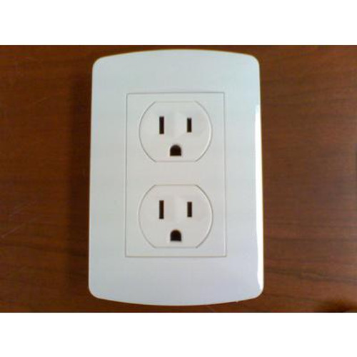 15A Standard Receptacle White