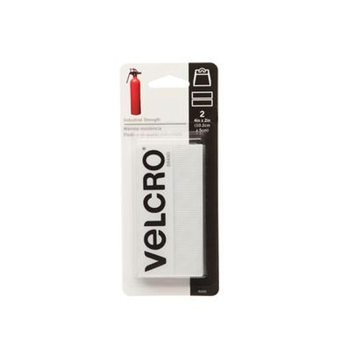 Velcro 4 in. X 2 in. Industrial Strength Strips 2 Pack