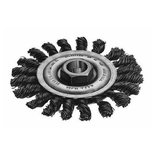 4 Inch Full Cable Twist Knot Wheel - Carbon Steel