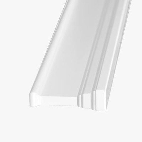 Primed Fibreboard Architrave 1-3/16 Inches x 4-3/16 Inches x 42 Inches