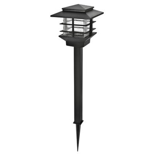 6 Pack LED Low Voltage Walklight and Floodlight Kit - Black finish