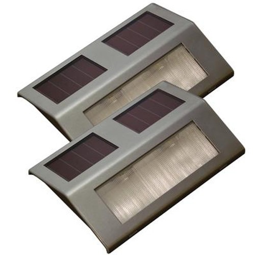 Solar Dock Light - Twin Pack