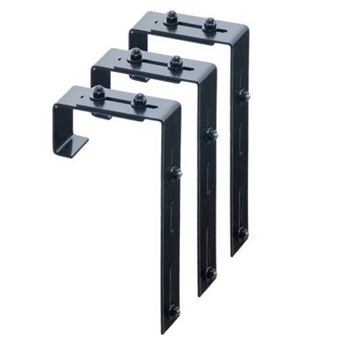 Deck Rail Brackets - 3 Pack