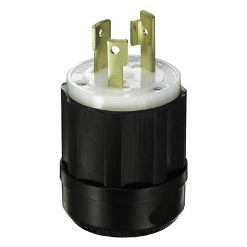15 Amp Locking Plug - 125Vc 2 Pole 3 Wire