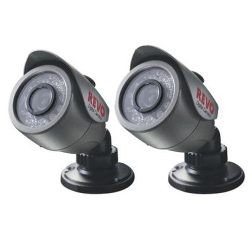 2 Pack 24IR 540TVL Bullet Cameras