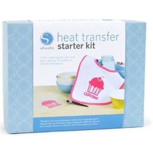 Silhouette heat transfer starter kit box cover