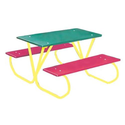 3 ft Commercial Plastic Preschool Table