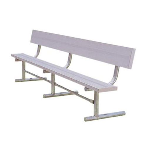 15' Aluminum Team Bench