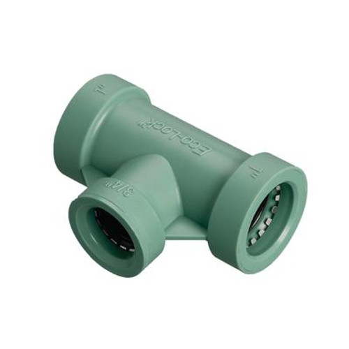 1 inchx 1 inchx 3/4 inch Eco-Lock Tee