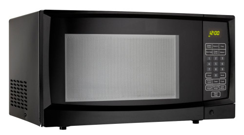 1.1 Cubic Feet Microwave-Black