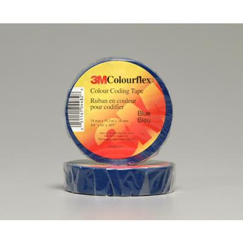 3M Colourflex Blue Coding Electrical Tape