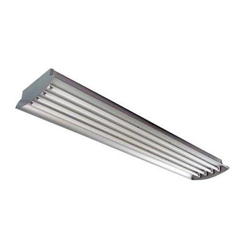 4 Feet 4-Lamp High Output 32-Watt (Each) T8 Aluminum High Bay Light Fixture