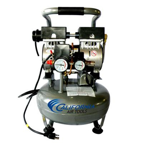 3010 1.0 HP  3.0 Gal Ultra Quiet Oil-Free Steel Tank Air Compressor