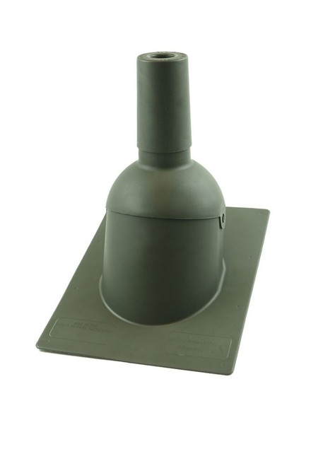 Perma-Boot 312  1.5 inch Weatherwood New roof/reroof vent pipe flashing
