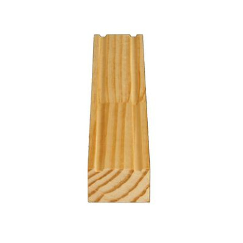 Finger Jointed Pine Brick Moulding 1-1/4 In. x 2 In. (Price per linear foot)