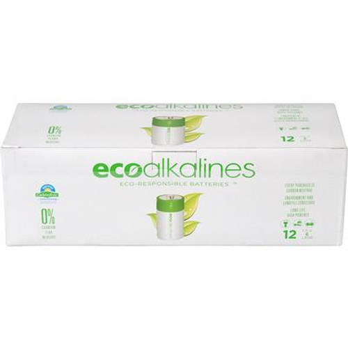 ECO Alkaline C Cell Bulk 12 Pack