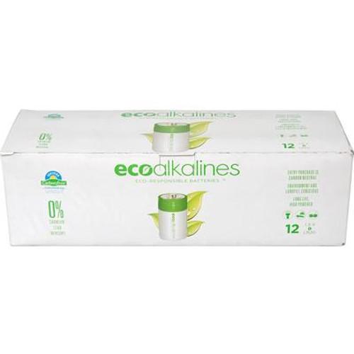 ECO Alkaline D Cell Bulk 12 Pack