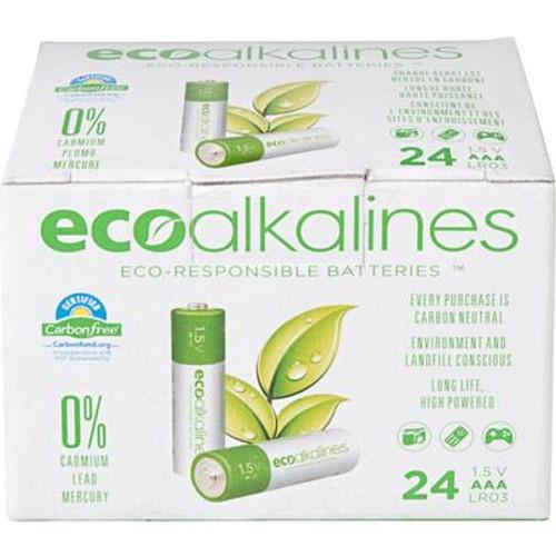 ECO Alkaline AAA Bulk 24 Pack