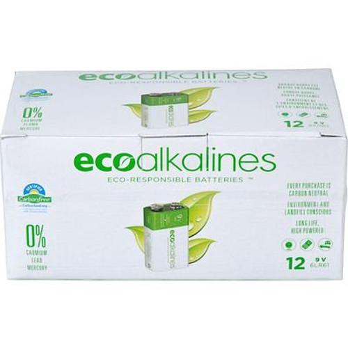 ECO Allkaline 9V Bullk 12 Pack