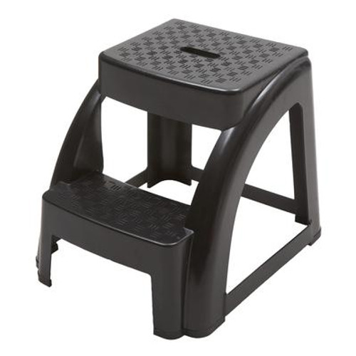 2-Step Molded Plastic Stool