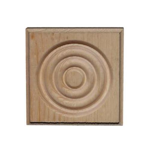 Pine Corner Block 11/16 In. x 2-3/4 In. x 2-3/4 In.