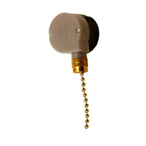 3 Speed Fan Switch with Pull Chain