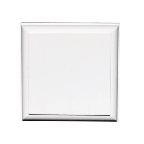 Primed Fibreboard Corner Block 1-1/8 In. x 3-3/8 In. x 3-3/8 In.