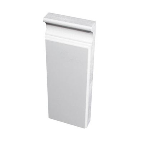 Primed Fibreboard Plinth Block 7/8 In. x 3 In. x 8 Ft.