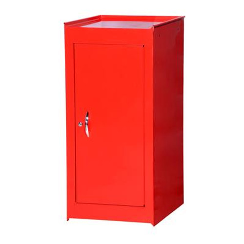 15 Inch Red One Shelf Side Locker