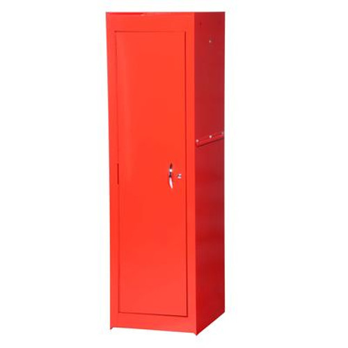 15 Inch Red Two Shelf Full Length Side Locker