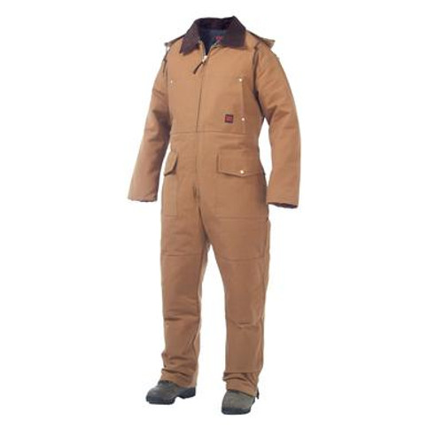 Heavyweight Coverall Brown Small